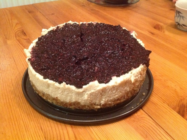 My first Raw Cheese Cake